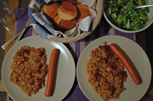 A Baked Bean Supper