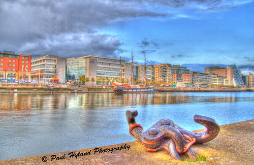 View across the Liffey
