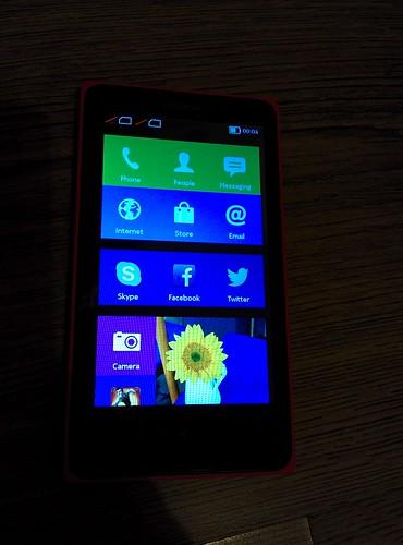 Nokia X UI