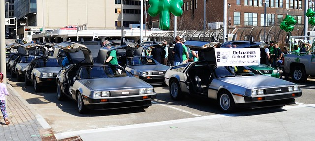 Deloreans at the Ready