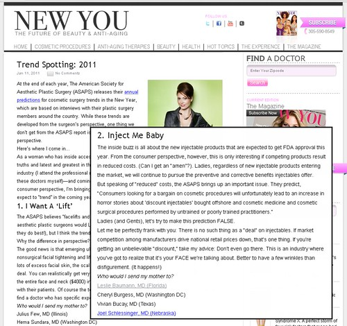 New You Magazine - Trend Spotting: 2011
