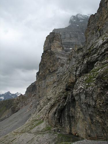 Intrarea pe Eiger Trail