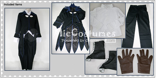 Tales of Symphonia Richter Abend Cosplay Costume_1