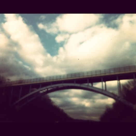 This is not the bridge; this is a bridge that is any bridge