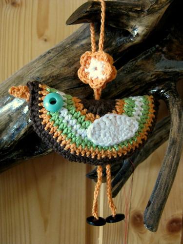 Birdie decoration