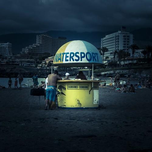 Watersport (Plage de Las Americas, Tenerife) - Photo : Gilderic