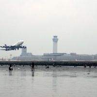 【Photo】潮干狩り2014!あさりを採りつつ、飛行機を撮る!【羽田空港沖】