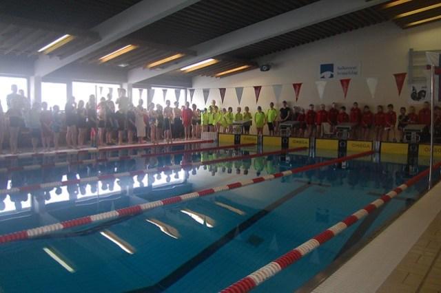The swim pool in Vági
