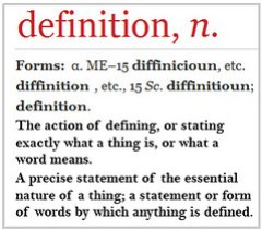 A new definition