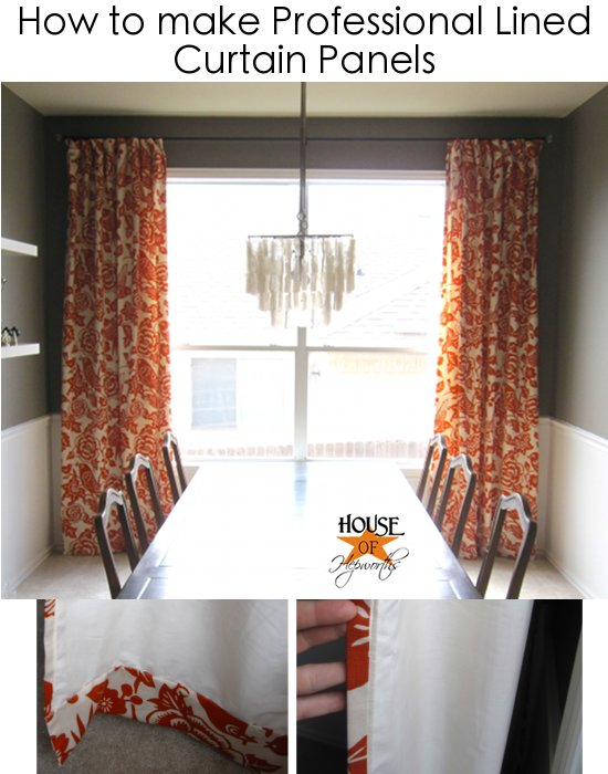 How much does it cost to make up curtains www for Curtain making service