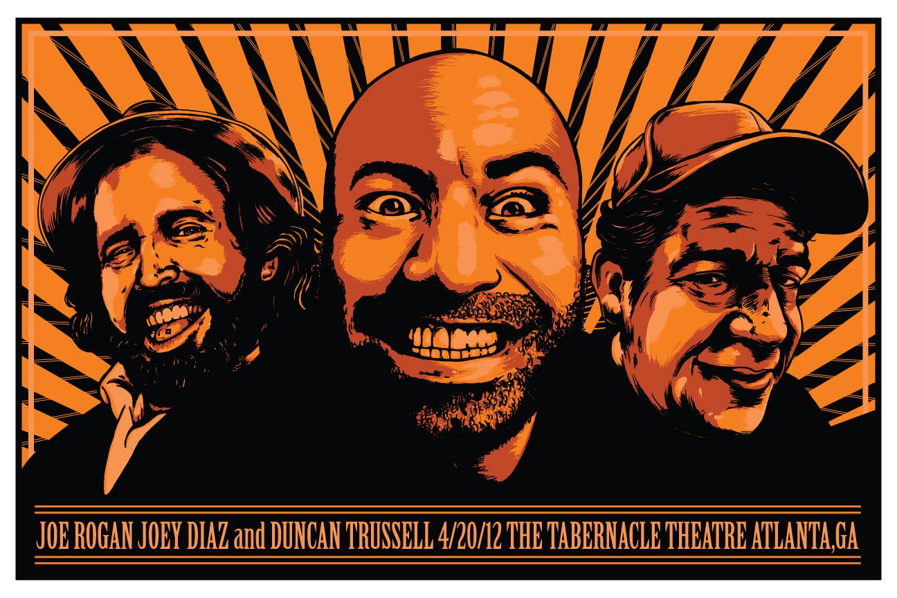 Joe Rogan Joey Diaz Duncan Trussell Atlanta 4/20 show.