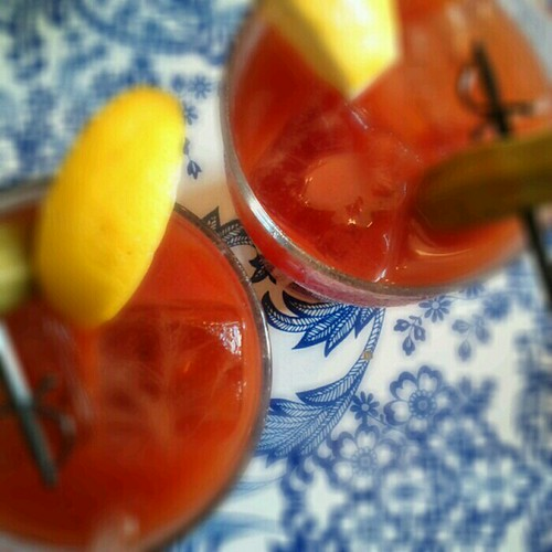 Bloody Marys at Fort Defiance