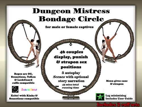 Dungeon Mistress Bondage Circle