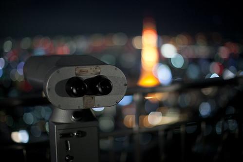 tokyo tower bokeh by kamuscasio