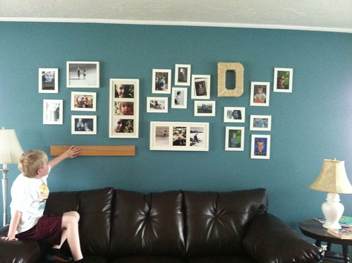 photo wall plan