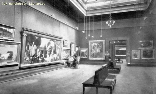 Manchester City Art Gallery, Mosley Street, Manchester, 1895
