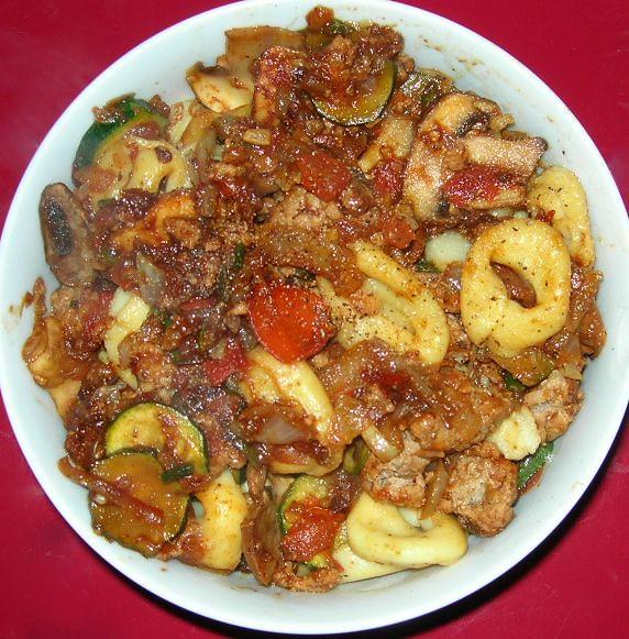 Tomato-Zucchini Pasta