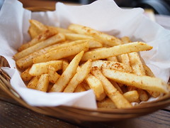 Fries in a basket, Timbre Substation