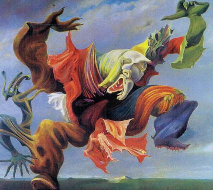12d28 Max Ernst L ange du foyer Uti
