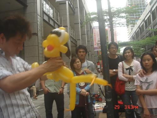氣球造型編織_街頭藝人9
