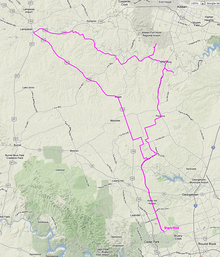 3/17/2012 - Ride-Route