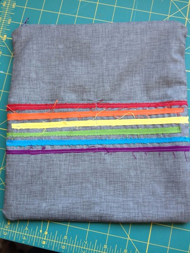 Embroidery Pouch - Back