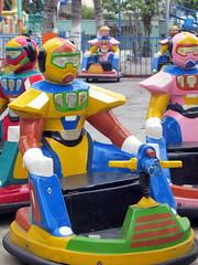 Abandoned Theme Park Bumper Cars