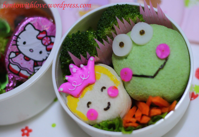 Princess and the Frog Bento