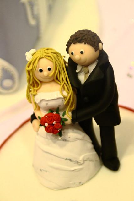 cake topper, groom bride wedding cake topper