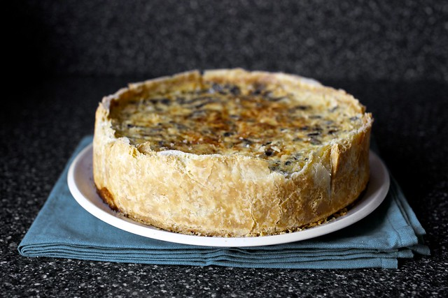 a quiche to feed a crowd