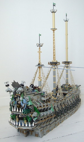 Lego Flying Dutchman by sebeus