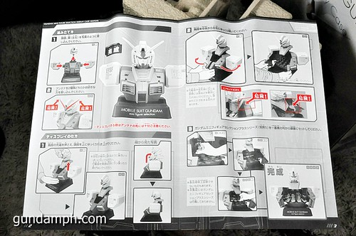 MSG RX-78-2 Bust Type Display Case (Mobile Suit Gundam) (13)
