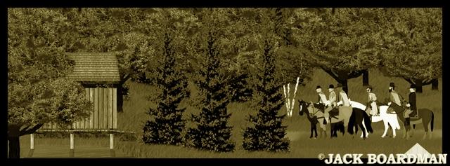Marshals & Nathaniel began search for raiders ©2012 Jack Boardman