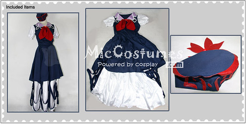 Imperishable Night Keine Kamishirasawa Cosplay Costume1