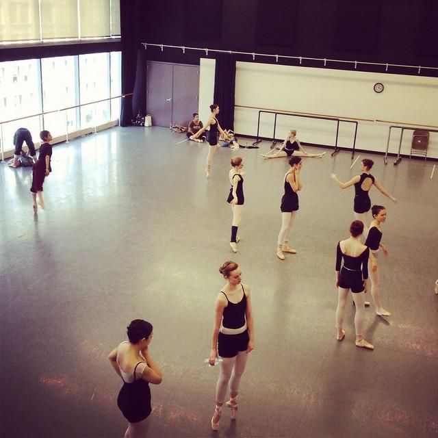 The Joffery Ballet - Students