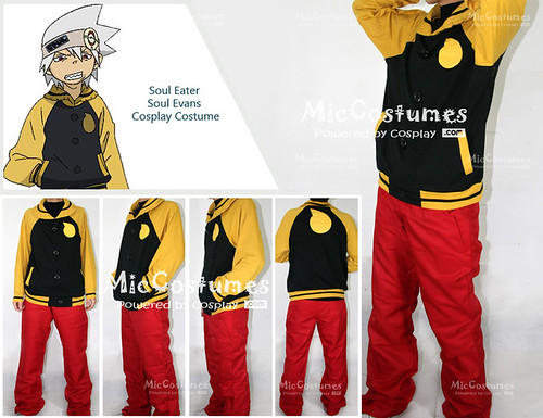 Soul Eater Soul Evans Cosplay Costume_1