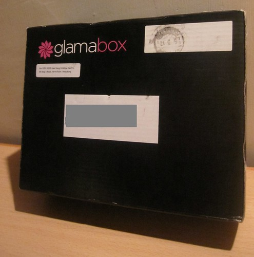 Glamabox Black Delivery Box