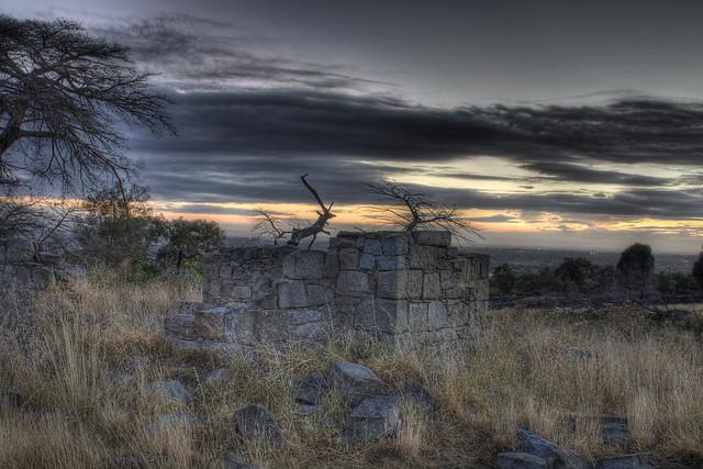 Cumberland Ruins at sunrise 2012-02-12 (_MG_2357_8_ 9) HDR