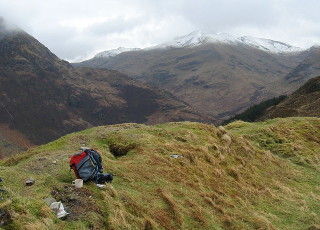 Bookcrossing at Dun Deardal, Glen Nevis