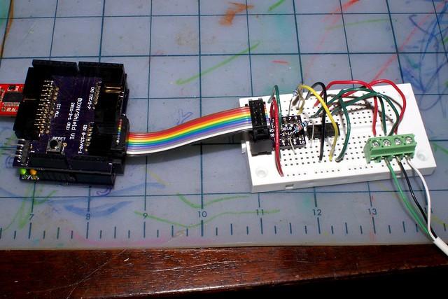 Arduino controlling Sony A100 camera using 2x 4N25's