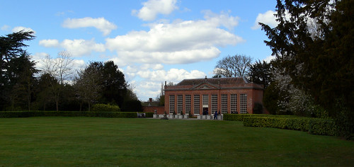 The Orangery at Hanbury Hall