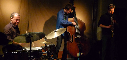 Daniele Martini, Mark Sanders, Dominic Lash @ Cafe Oto 26.2.12