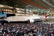 B777 1000 de Emirates, 3 de marzo de 2012
