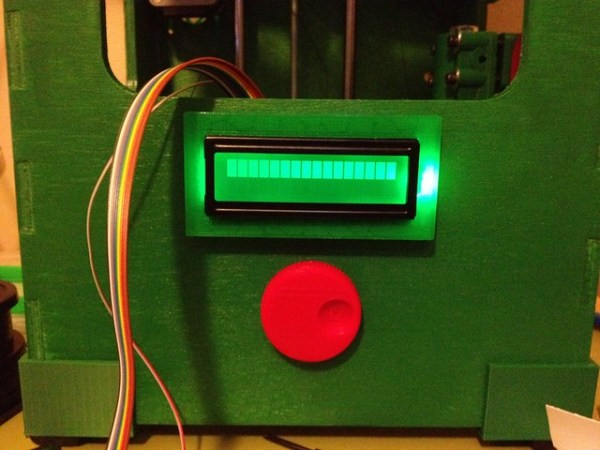 Wiring the LCD & encoder wheel on the Tantillus