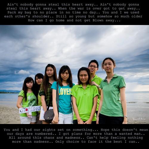 Stop Lynas, Save Malaysia, Tanjung Arun Beach, Kota Kinabalu.