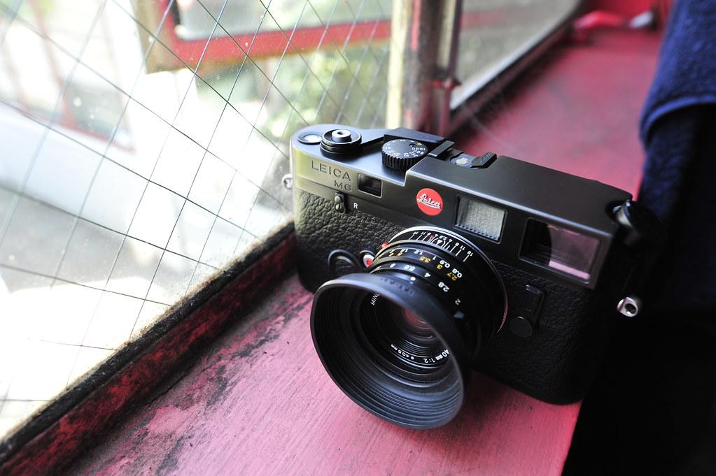 Dude got a Leica