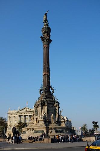 colombus statue
