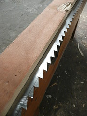 new teeth for a frame saw