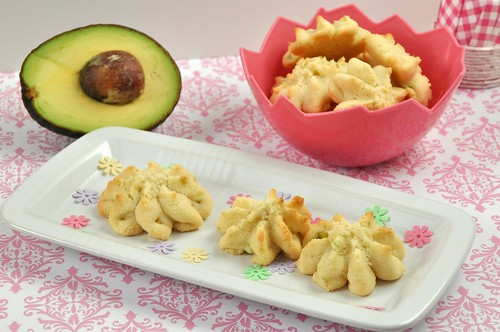 avocado cream cheese cookies