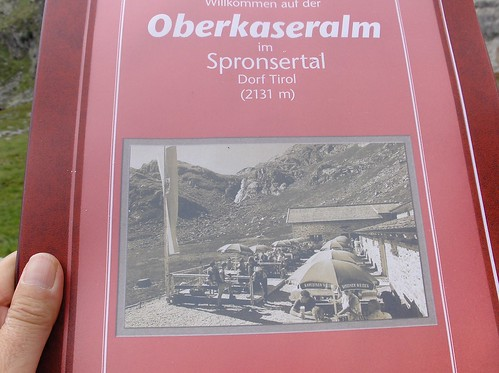 Oberkaseralm - Dorf.Tirol 2131mt